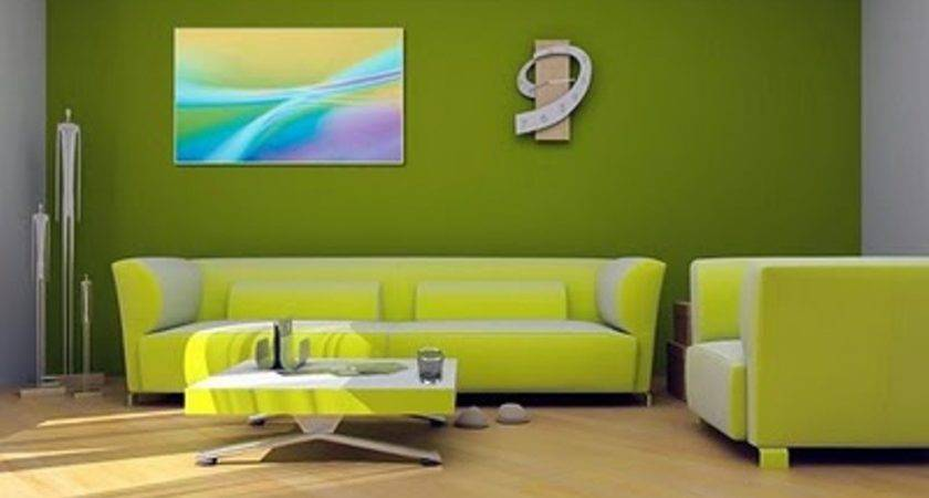 Green Sofas Friendly Touch Contemporary Living Room