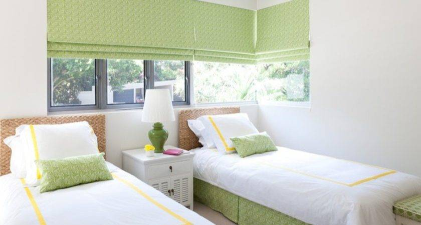 Green Yellow Girls Bedroom Cottage Girl Room