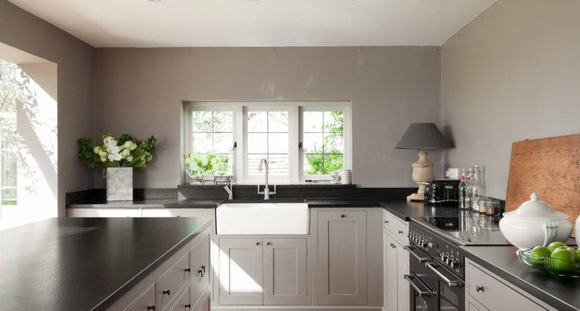 Grey Kitchens Kitchen Contemporary Gray