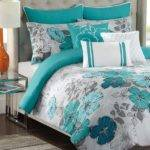 Grey Teal Bedroom Pinterest
