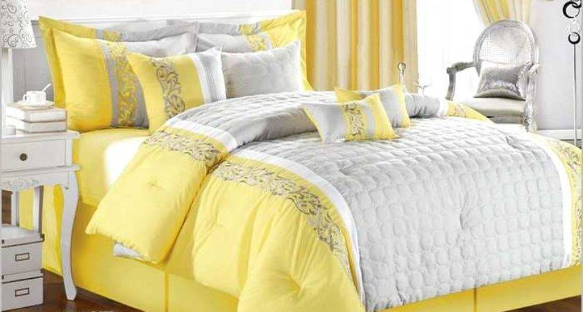 Grey Yellow Baby Crib Bedding Sets Home Design