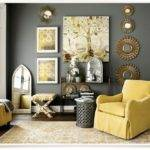 Grey Yellow Decor