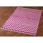 Hacienda Purple White Chevron Area Rug Wayfair