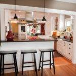 Half Wall Kitchen Designs Affordable
