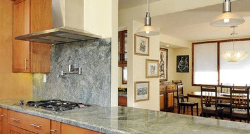 Half Wall Kitchen Designs Breakfast Bar