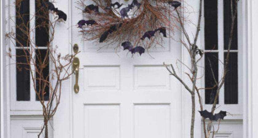 Halloween Front Door Decor Simplified Bee