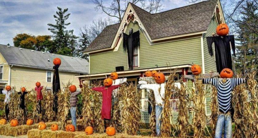 Halloween Yard Decorations Ideas Budget