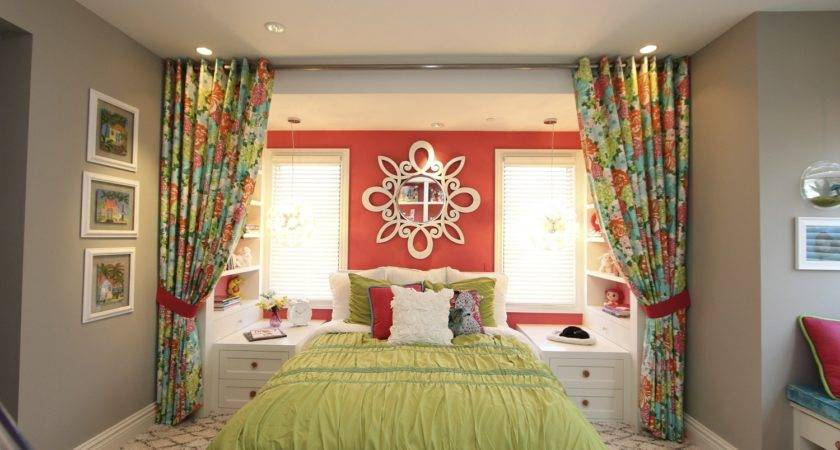 Hamptons Inspired Luxury Home Girls Room Robeson Design