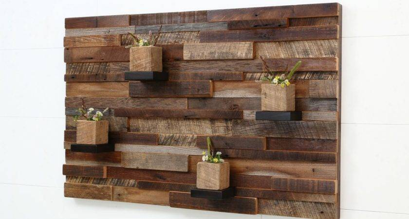 Hand Crafted Reclaimed Wood Wall Art Made Old Barnwood