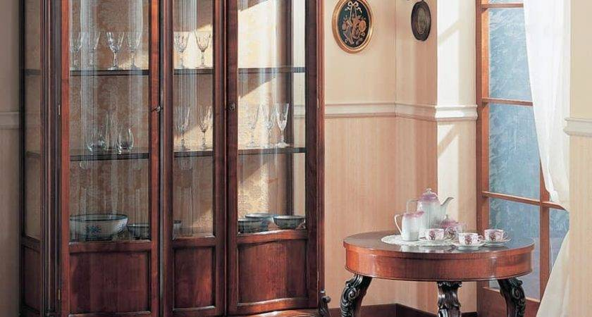 Hand Decorated Display Cabinet Dining Room Idfdesign
