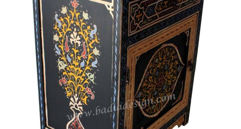 Hand Painted Furniture Moroccan Los Angeles