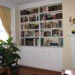 Handmade Built Bookshelves Kent Cabinetry Millwork