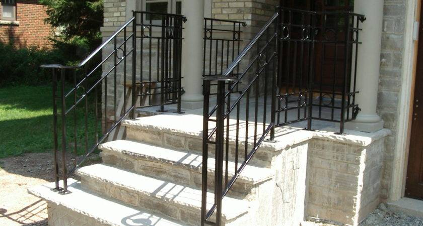 Handrails Outdoor Steps Design Best Choice Exterior