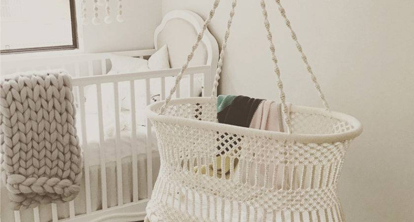 Hanging Macrame Bassinet Archives Kids Interiors