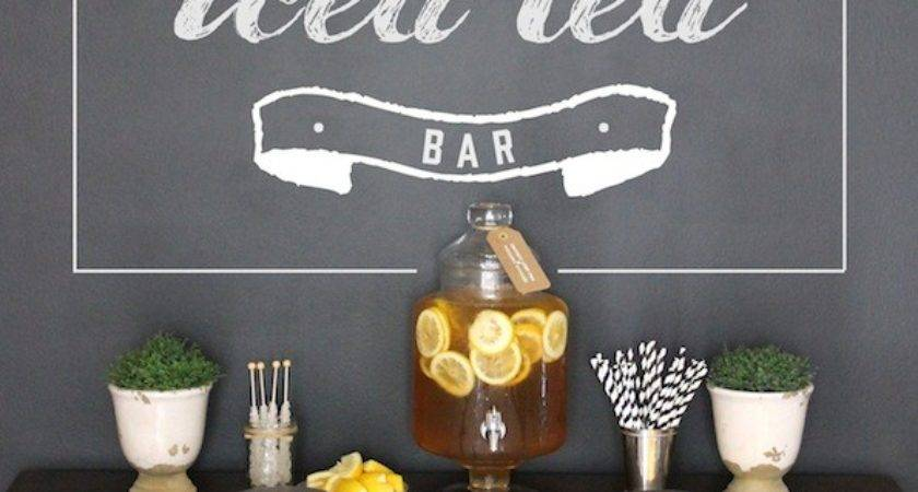 Hard Iced Tea Bar Recipes Summer Sipping Evite