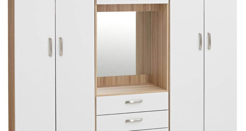 Harveys Lima Sliding Mirror Wardrobe Wardrobes Your