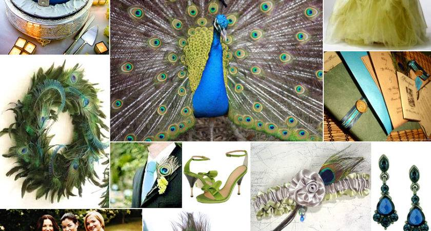 Have Hold Peacock Wedding Theme