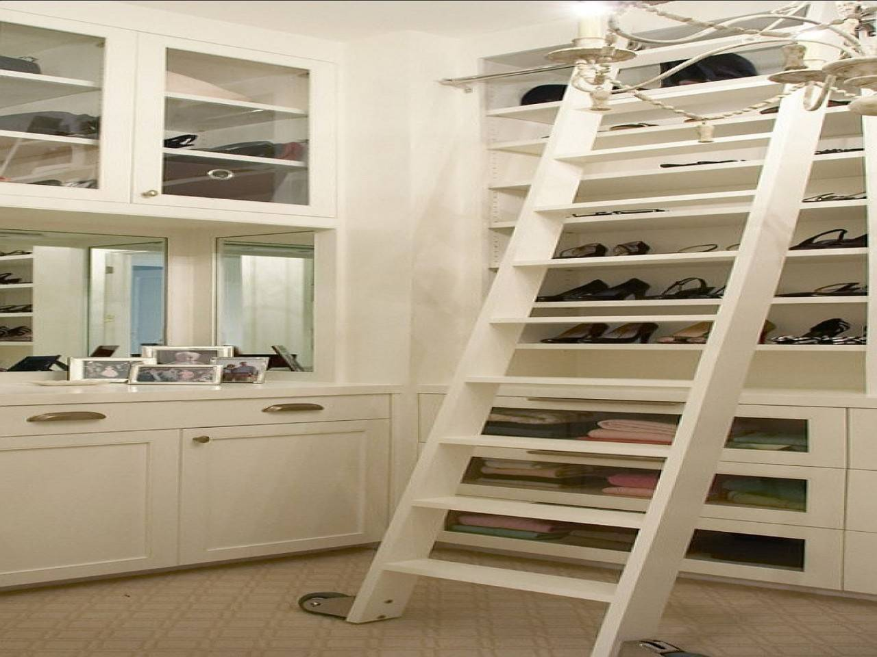 High Ceiling Closet Storage Ideas