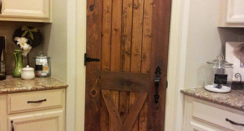 High Narrow Single Door Pantry Two Sided Shelves