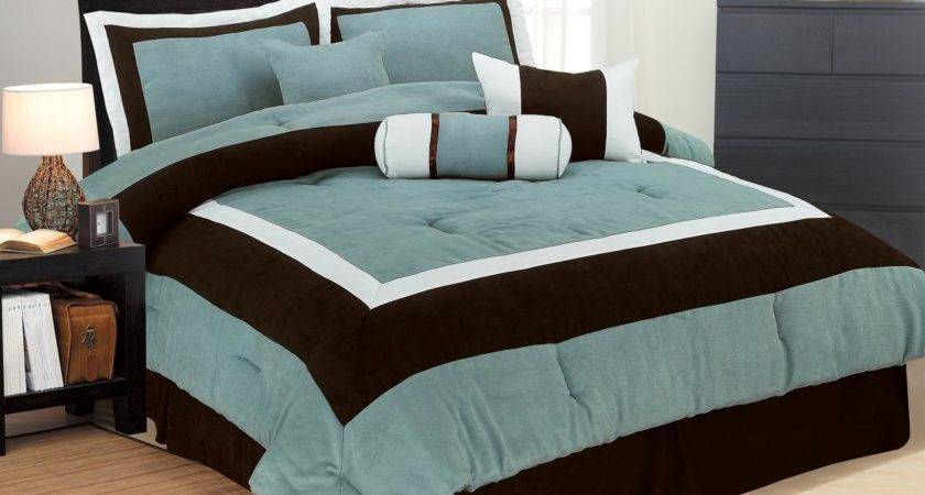 High Quality Micro Suede Comforter Set Bedding Bag