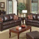 Highbury Brown Leather Seater Sofa Suite