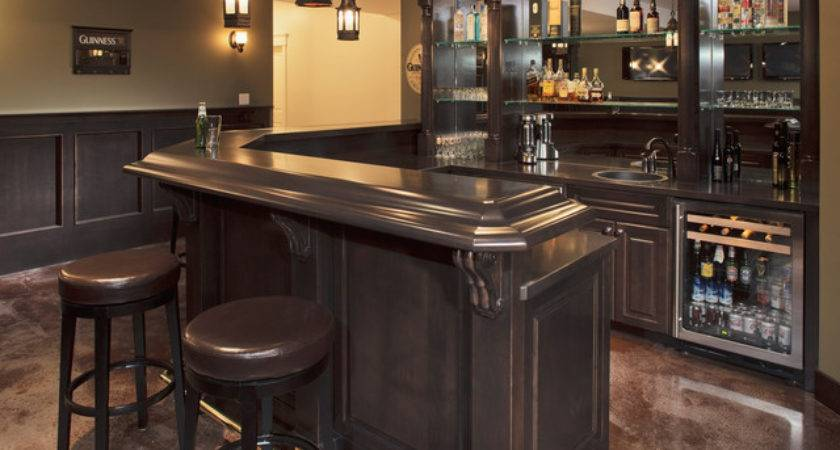 Home Beer Bar Design