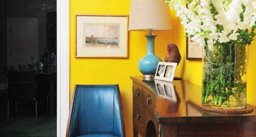 Home Bold Wall Colours Fresh Chic