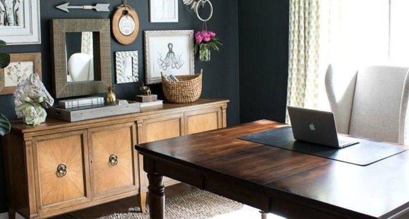 Home Decor Living Room Office Charcoal Gray