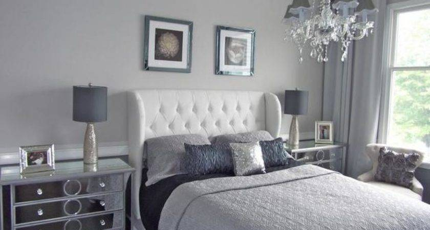 Home Design Idea Bedroom Decorating Ideas Using Grey