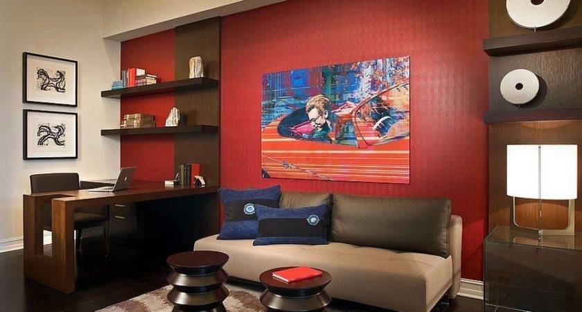 Home Design Surprising Black Red Living Rooms