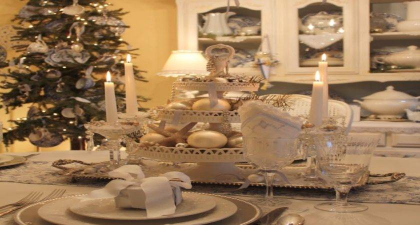 Home Setting Ideas Gold White Flower Centerpieces