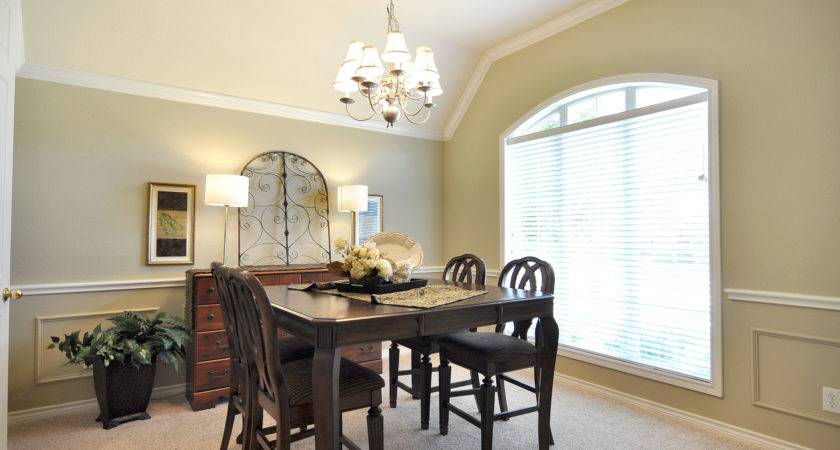 Home Star Staging Staged Then Dining Room