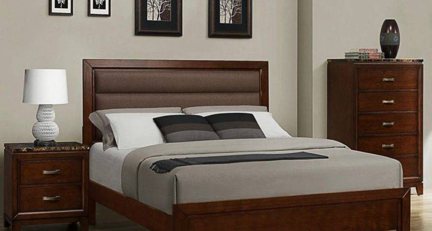 Homelegance Bleeker Piece Platform Bedroom Set Brown