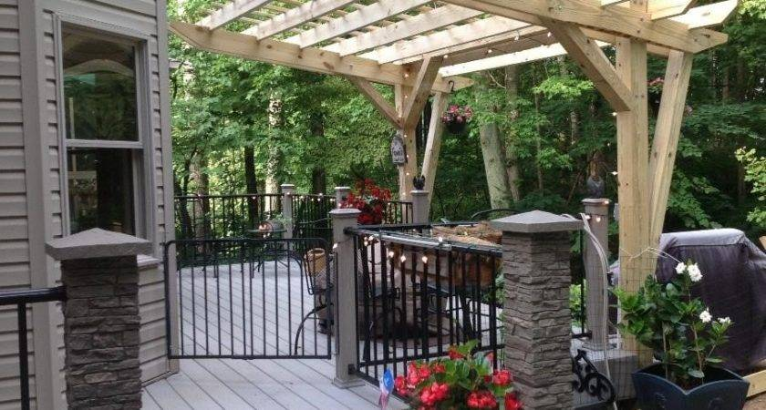 Hometalk Cantilevered Pergola Diy Designed Built