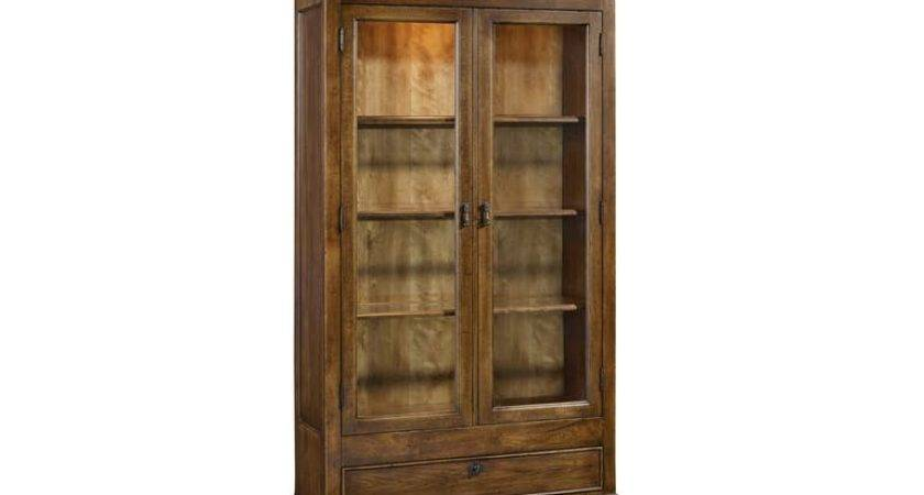 Hooker Furniture Dining Room Archivist Display Cabinet