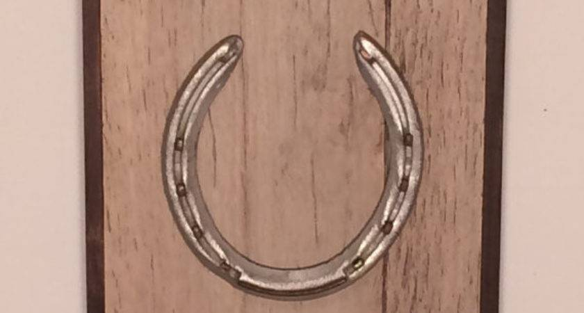 Horseshoe Sign Wall Hanging Lucky