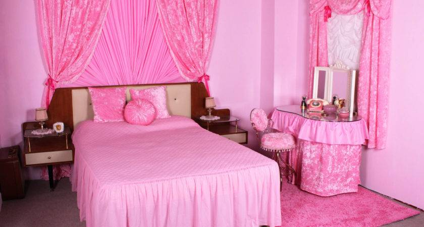 Hot Pink Bedroom Furniture Vintage Inspired