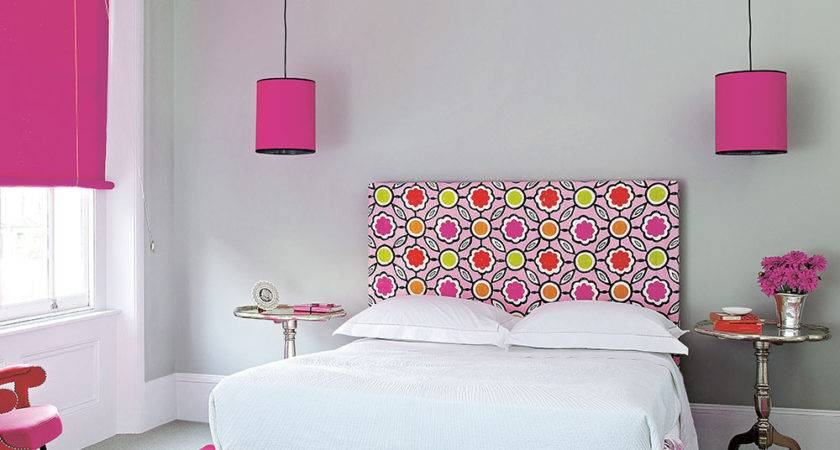 Hot Pink Bedroom Ideas Vintage Inspired
