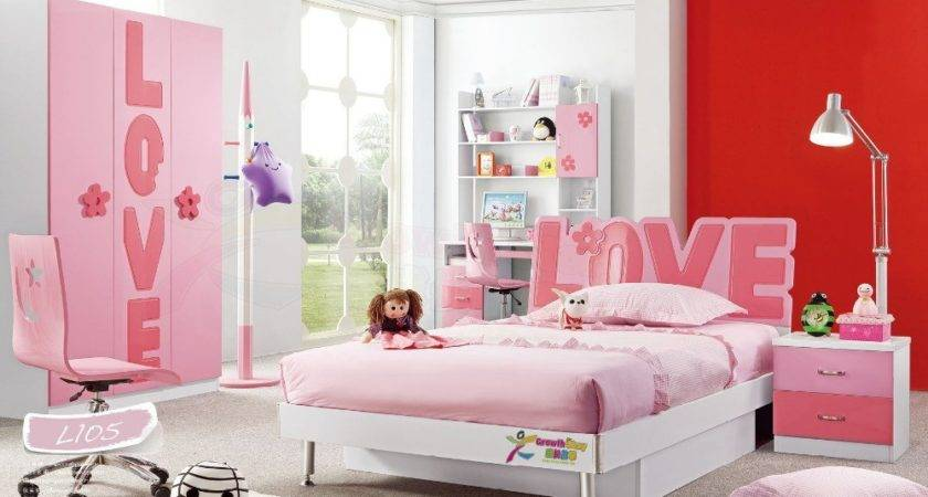 Hot Sale China Modern Lovely Sets Furniture Girls