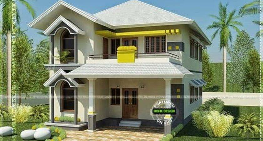 House South Indian Style Square Feet Kerala Home