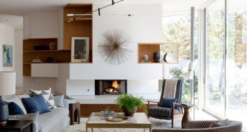 Houzz Tour Earthy Decor Adds Warmth Modern Home