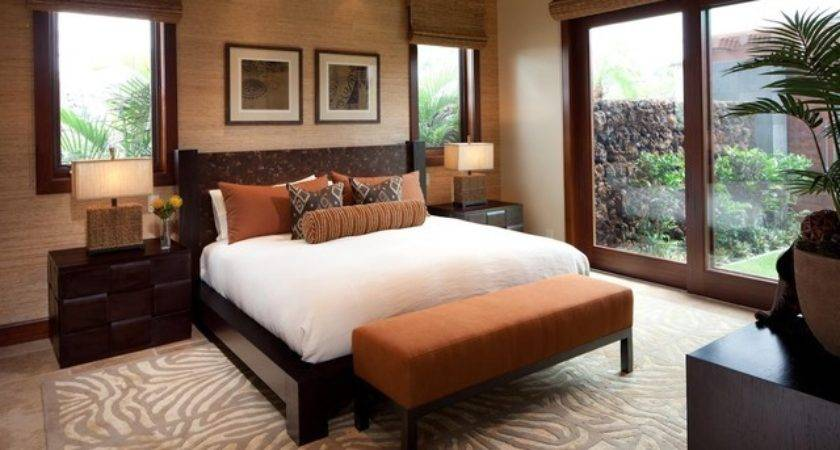 Hualalai Earthy Haven Modern Bedroom Hawaii