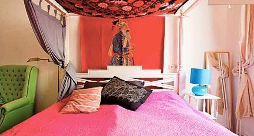Ideas Bedrooms Pink Green Bedroom