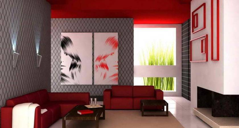 Ideas Best Color Paint Living Room Red Themes