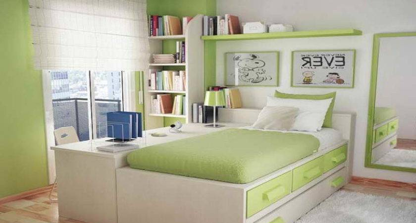 Ideas Color Small Rooms Green
