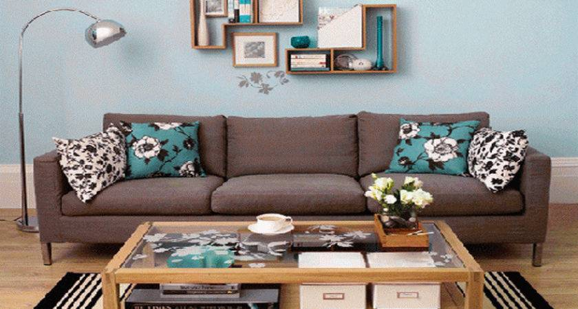 Ideas Decorate Large Living Room Wall
