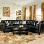 Ideas Decorating Living Room Black Sofa