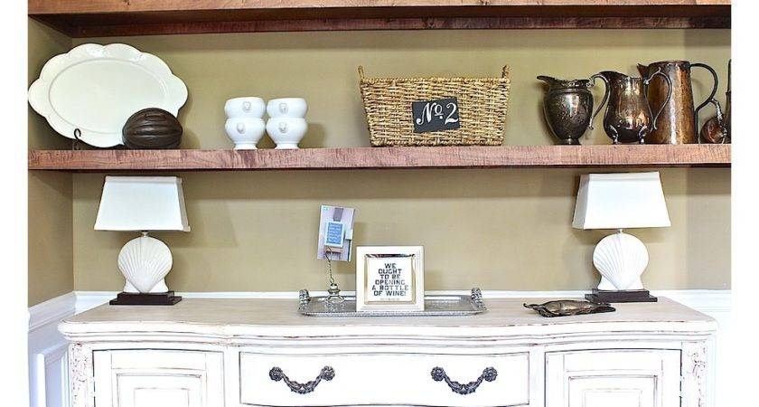 Ideas Dining Room Shelves Pinterest