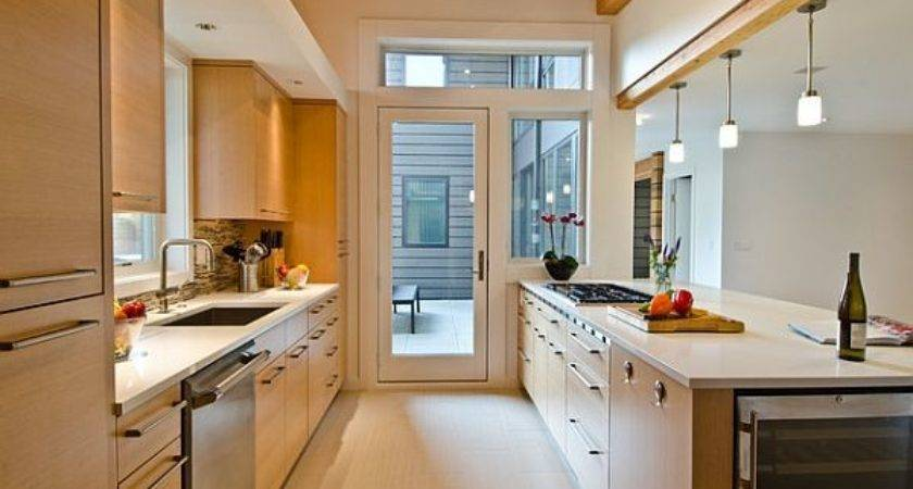 Ideas Galley Apartment Small Kitchen Home Design