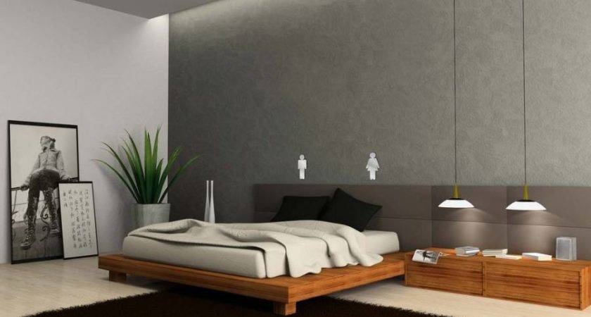 Ideas Modern Furniture Minimalist Bedroom Decor